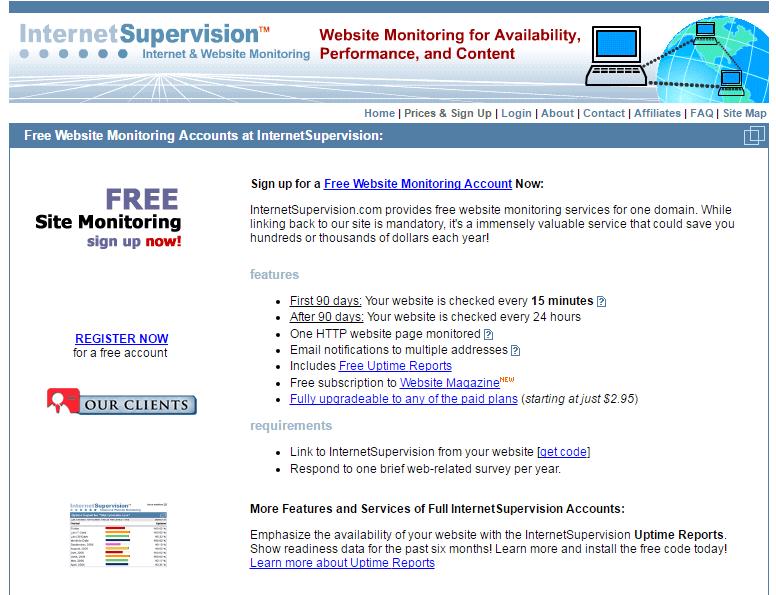 test de velocidad con InternetSuperVision