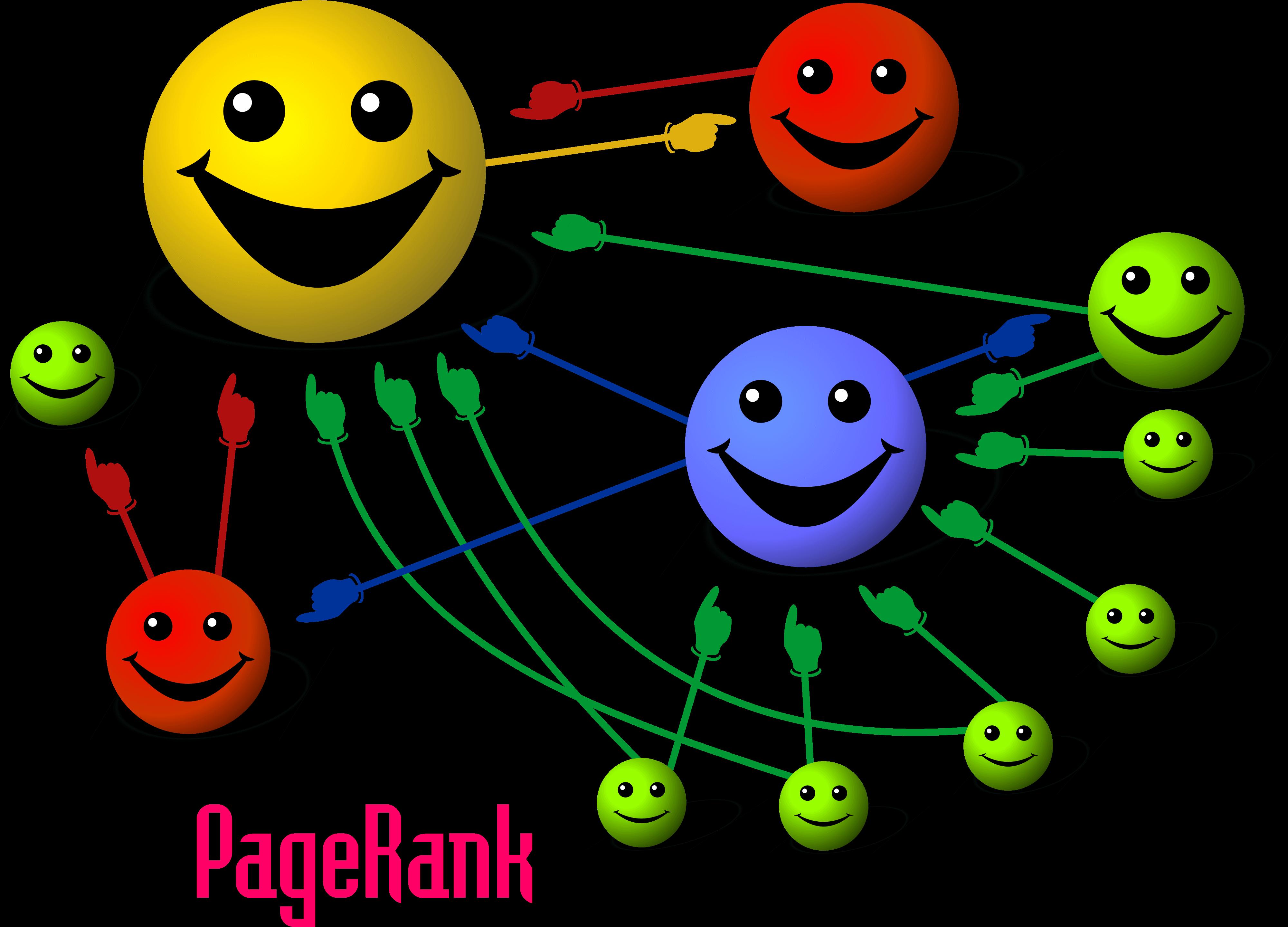 principio básico en Pagerank
