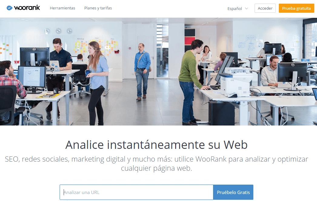 seo analytics-Woorank