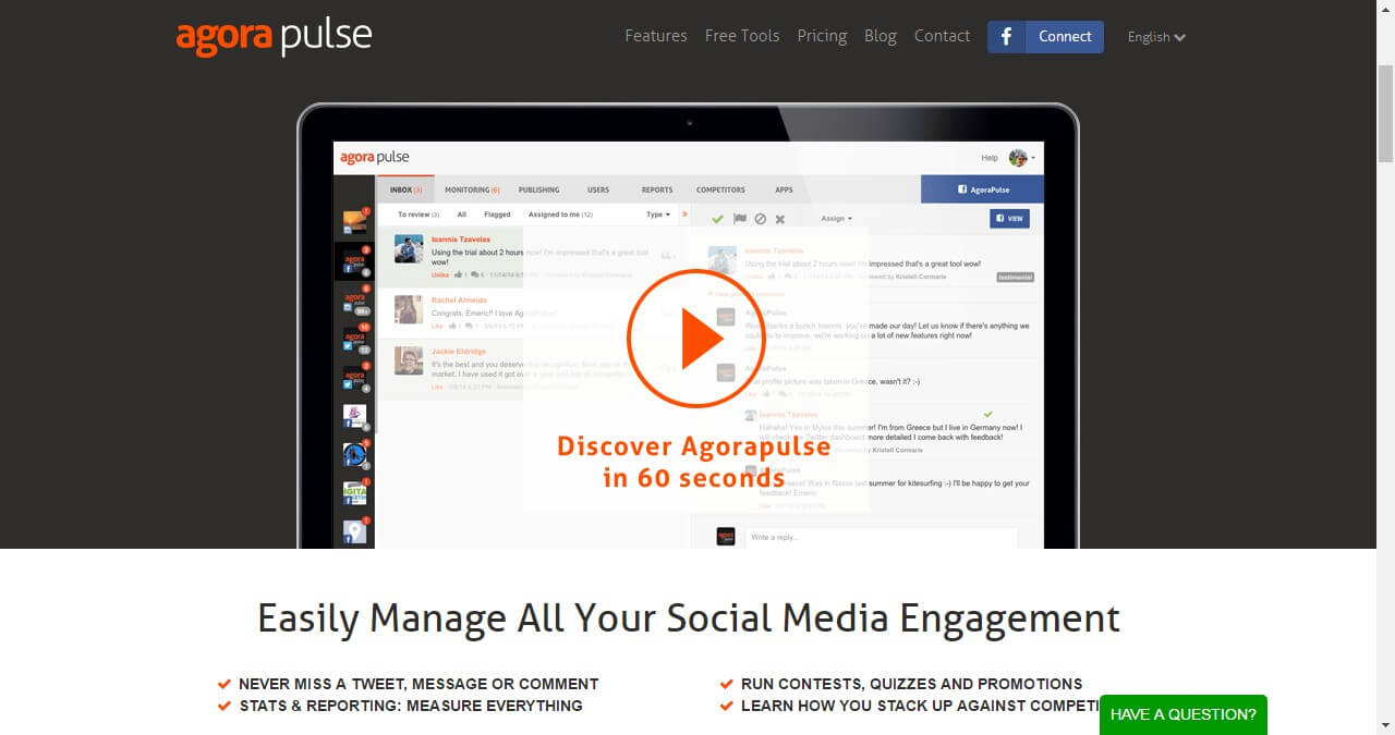 Facebook analytics-Agorapulse
