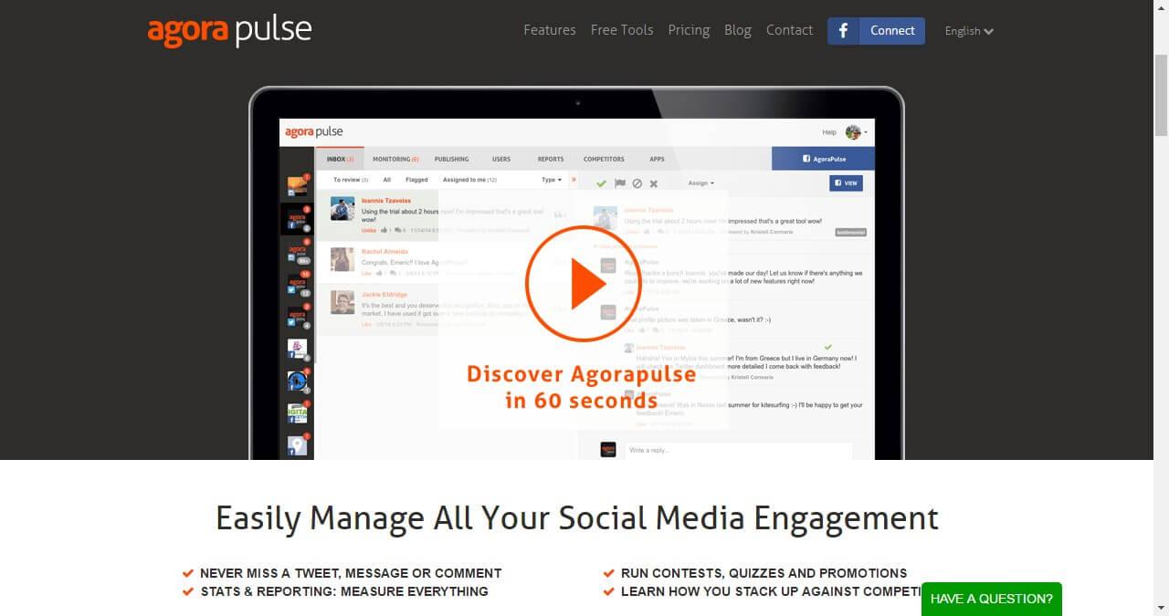 Facebook analytics-Agorapulse