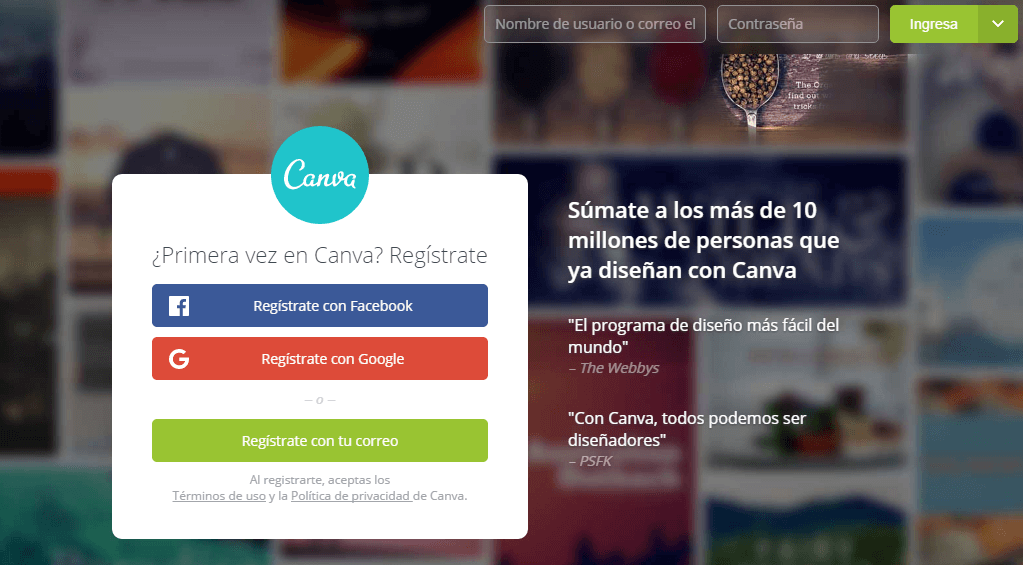Recursos para el marketing visual - Canva