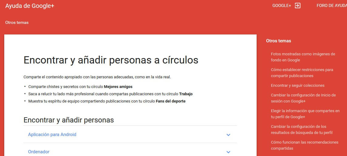 google plus - google_circles