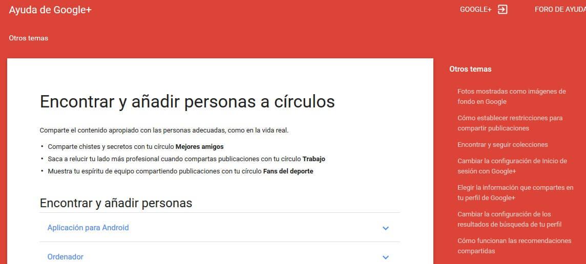 google plus - google_circles