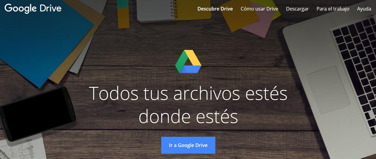 google plus - google drive