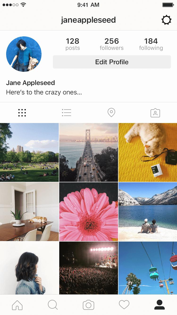 Geo-tagging en Instagram