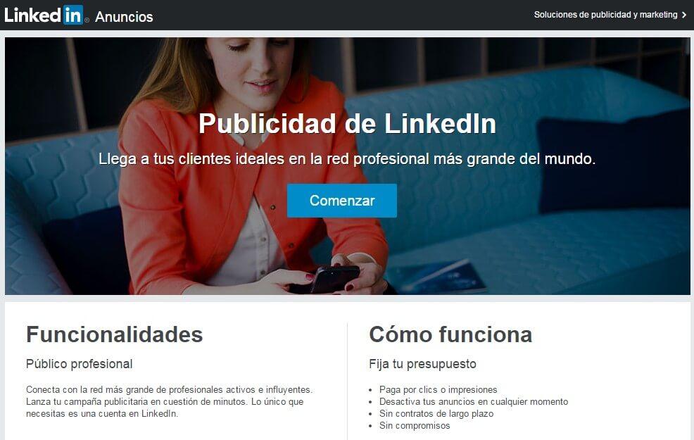 Linkedin empresas-Linkedin ads