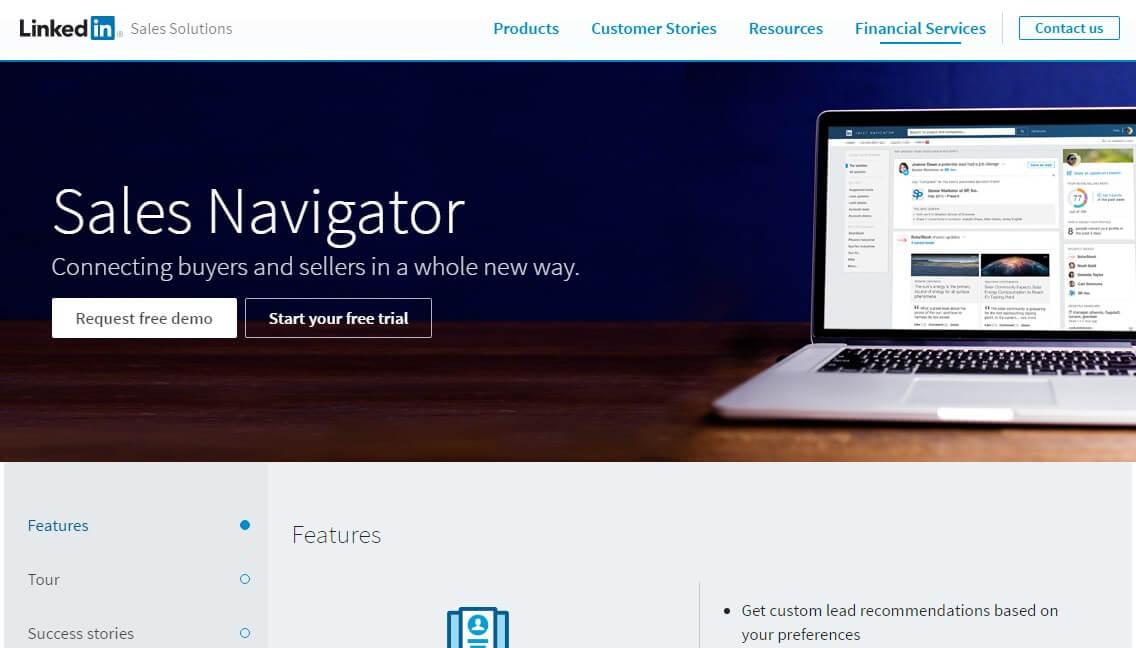 Linkedin empresas-Linkedin sales navigator