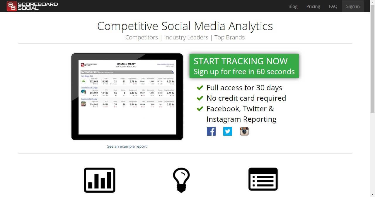 Facebook analytics-Scoreboardsocial
