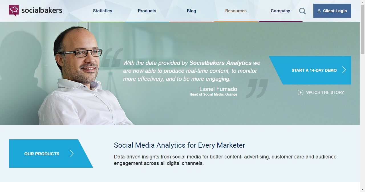 Facebook analytics-Socialbakers