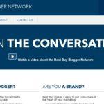 Sitio web de Blogger Network