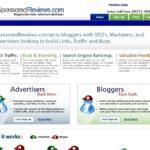 Sitio web de Sponsored Reviews