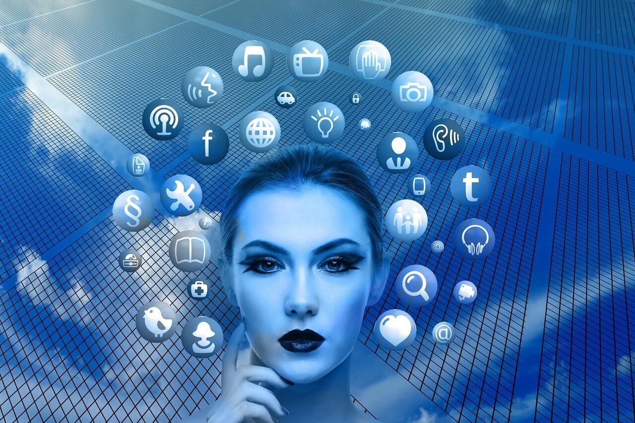 marketing social visual