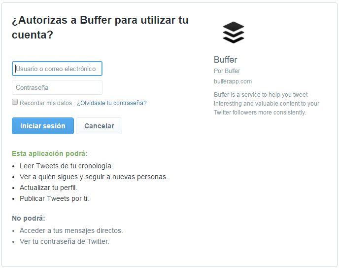 Tutorial Buffer