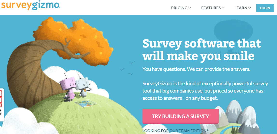 encuestas online gratis-surveygizmo