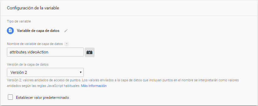 Vídeos YouTube en Google Tag Manager