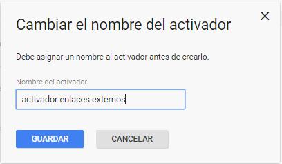 Rastreo de enlaces externos con Google Tag Manager