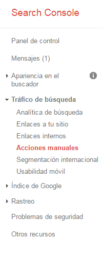 Auditoría web con Google Search Console