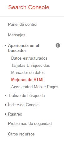 Auditoría web con Google Search Console