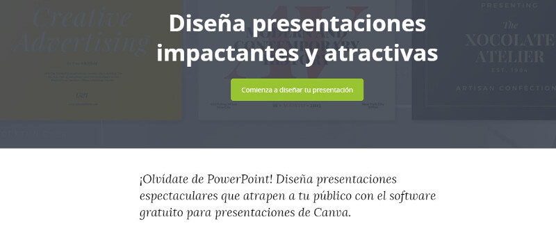 diapositivas Slideshare-canva