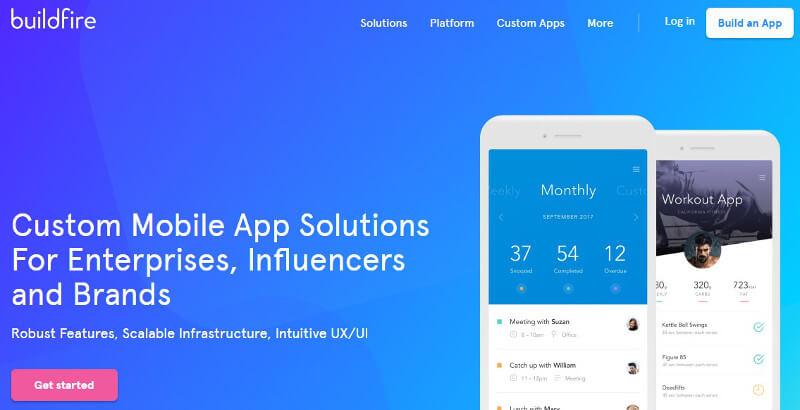 crear aplicaciones móviles buildfire