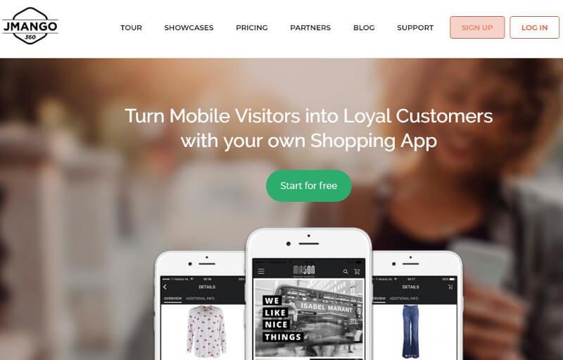 crear aplicaciones móviles jmango