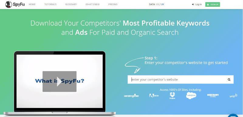analisis de la competencia spyfu
