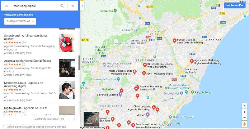 competencia marketing google_maps