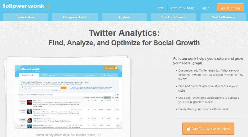 herramientas de gestion de Twitter _FollowerWonk