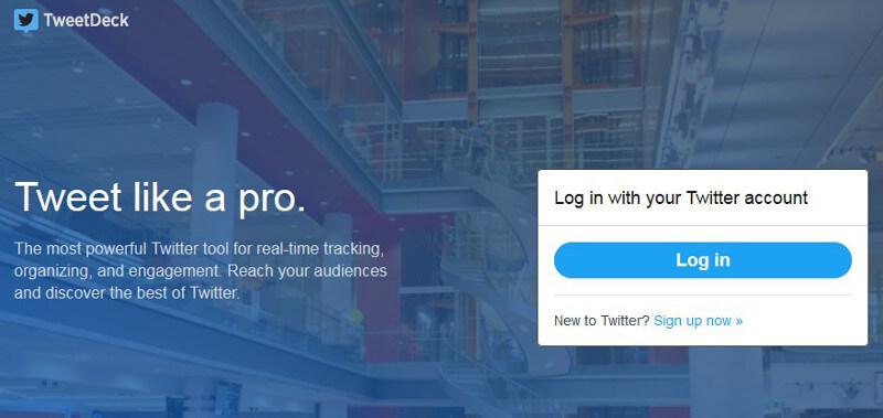 herramientas de gestion de Twitter _TweetDeck