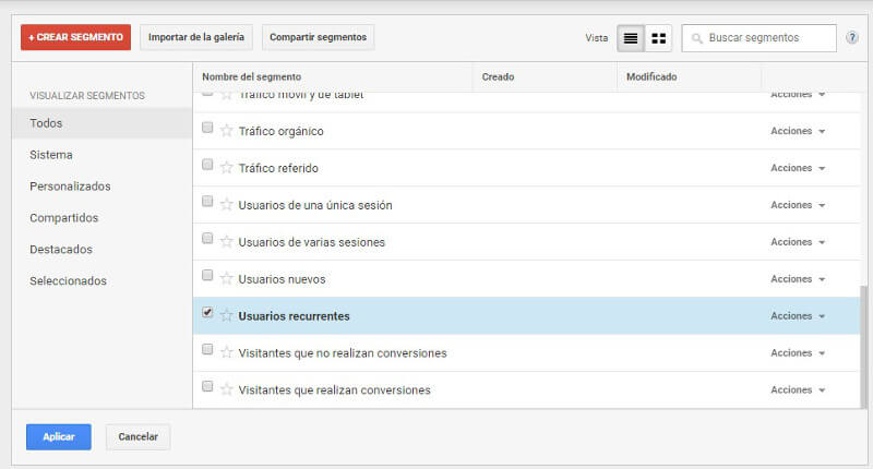 Informe Comportamiento en Google Analytics_usuarios_recurrentes