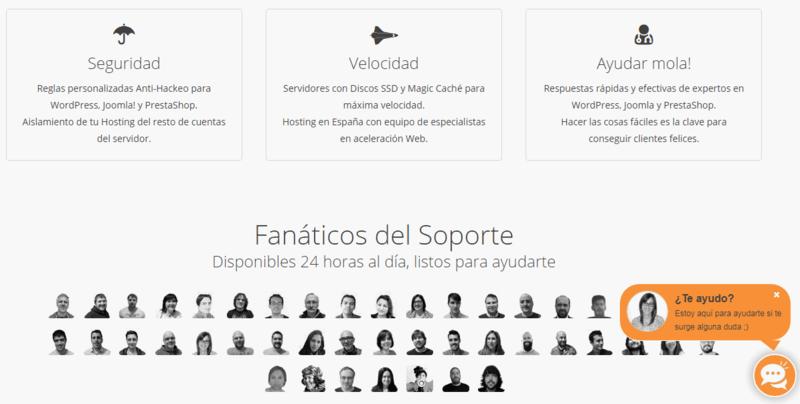 webempresa web hosting soporte tecnico